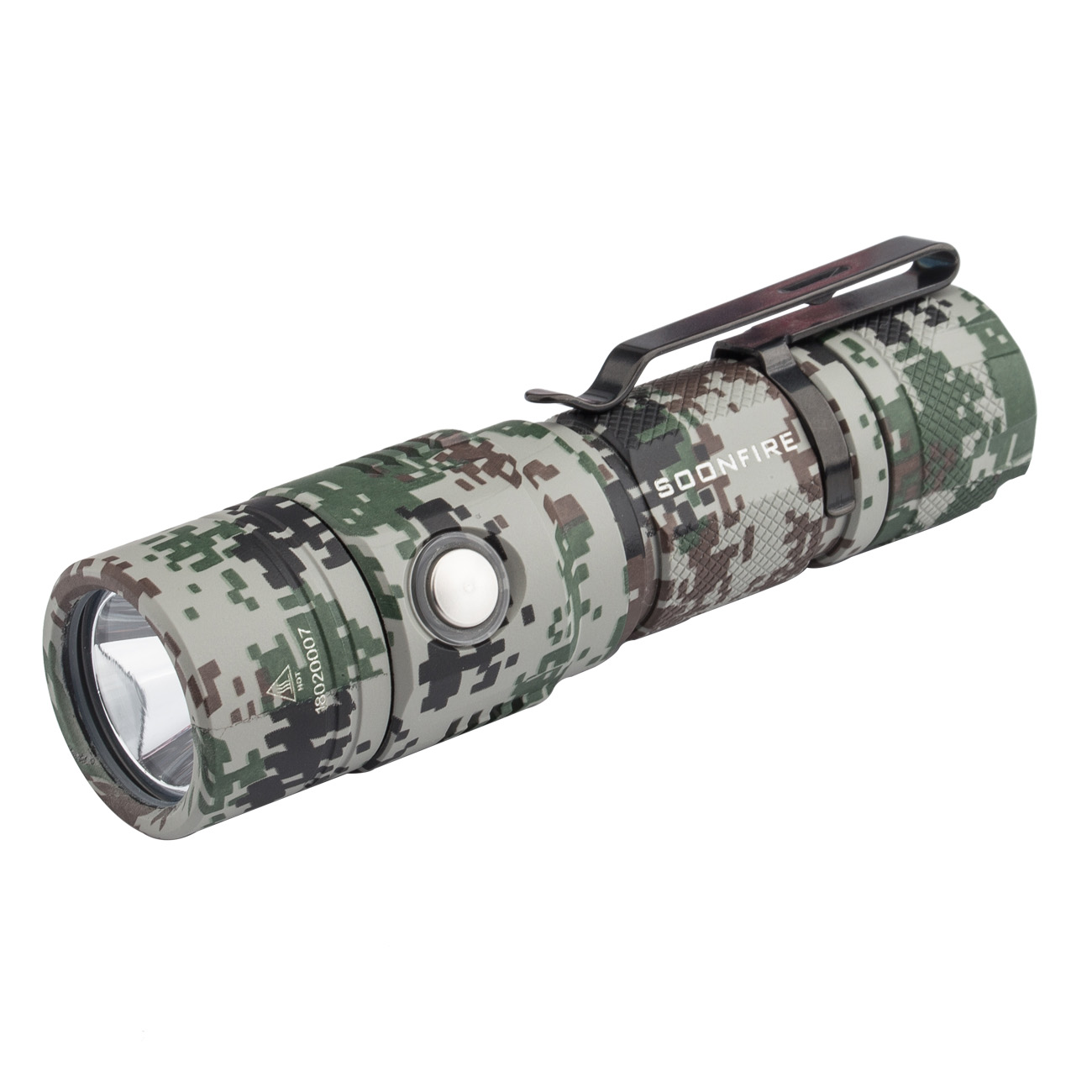 Soonfire E09 Multifunctional 1000 Lumen Ultra-bright Rechargeable CREE XP-L LED Flashlight
