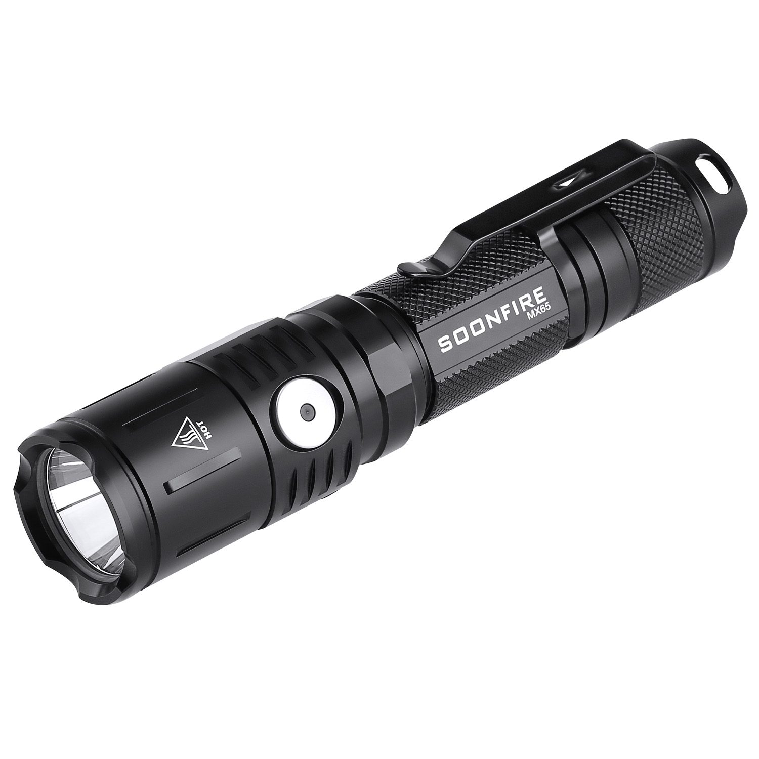 Soonfire MX Series 1060 Lumens Tactical Flashlight(Black)