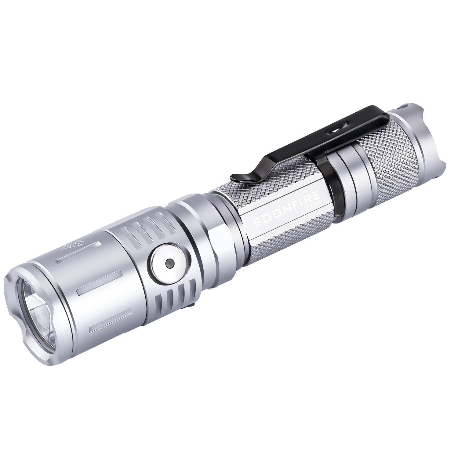 Soonfire MX Series Cree LED Tactical Flashlight(Grey)